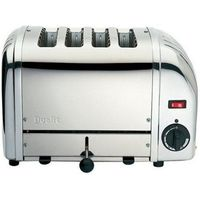 DUALIT 40352 Vario 4-Slice Toaster - Stainless Steel, Stainless Steel