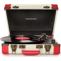 CROSLEY Executive Portable USB Turntable - Red, Red