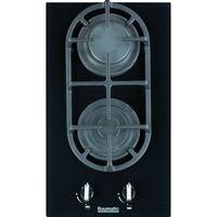 BAUMATIC BGG32 Gas Hob - Black Glass, Black