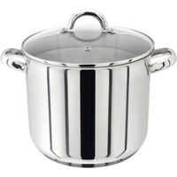 JUDGE VISTA PP82 24 cm Stock Pot - Stainless Steel, Stainless Steel