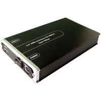 DYNAMODE USB-HD3.5S-3.0 3.5 USB HDD Enclosure - Black, Black