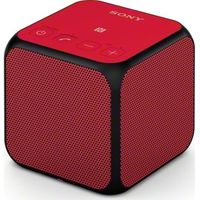 SONY SRS-X11R Portable Wireless Speaker - Red, Red