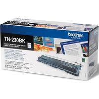 BROTHER TN230BK Black Toner Cartridge, Black