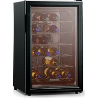 BAUMATIC BW28BL Wine Cooler - Black, Black