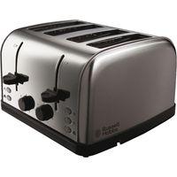 RUSSELL HOBBS Futura 18790 4-Slice Toaster - Stainless Steel, Stainless Steel