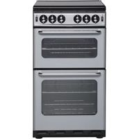 NEW WORLD 500TSIDL Gas Cooker - Silver, Silver