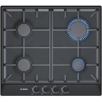 BOSCH Avantixx PCP616B90E Gas Hob - Black, Black