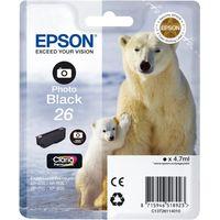 EPSON Polar Bear T2611 Photo Black Ink Cartridge, Black