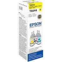 EPSON T6644 Yellow Ecotank Ink Bottle - 70 ml, Yellow