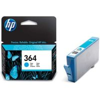 HP 364 Cyan Ink Cartridge, Cyan