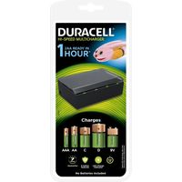 DURACELL CEF22 MultiCharger Battery Charger - for AA, AAA, C, D and 9V Batteries