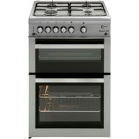 FLAVEL ML61NDSP Gas Cooker - Silver, Silver