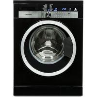 GRUNDIG GWN47430CB Washing Machine - Black, Black