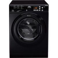 HOTPOINT WMFUG842K SMART Washing Machine - Black, Black