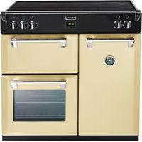 STOVES Richmond 900Ei Electric Induction Range Cooker - Cream, Cream