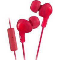 JVC Gumy HA-FR6-R-E Headphones - Red, Red
