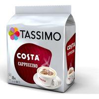 TASSIMO Costa Cappuccino T Discs - Pack of 8