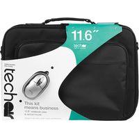 TECHAIR 11.6 Laptop Bag & Mouse Bundle - Black, Black