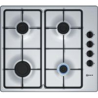 NEFF T26BR46N0 Gas Hob - Stainless Steel, Stainless Steel
