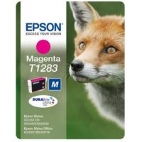 EPSON Fox T1283 Magenta Ink Cartridge, Magenta