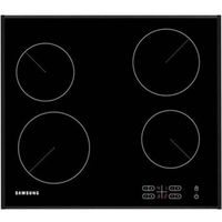 SAMSUNG C61R2AEE Electric Ceramic Hob - Black, Black