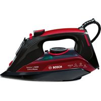 BOSCH Sensixx TDA5070GB Steam Iron - Black & Red, Black