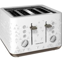 MORPHY RICHARDS Prism 248102 4-Slice Toaster White, White