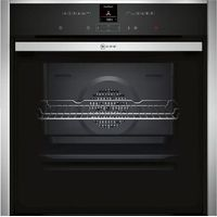 NEFF B57CR22N0B Slide & Hide Electric Oven - Stainless Steel, Stainless Steel