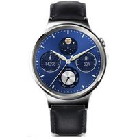 HUAWEI Classic Smartwatch - Black, Leather Strap, Black