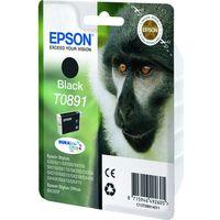 EPSON Monkey T0891 Black Ink Cartridge, Black