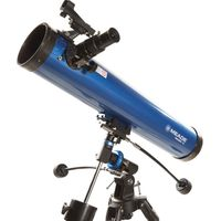 MEADE Polaris 76 EQ Reflector Telescope - Blue, Blue