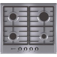 NEFF T22S36N0GB Gas Hob - Stainless Steel, Stainless Steel