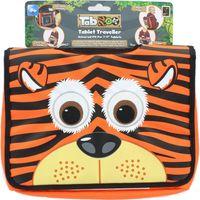 TABZ00 Zootrati Tiger Traveller Tablet Case - Orange & Black, Orange