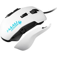 ROCCAT Nyth Modular MMO Laser Gaming Mouse - White, White