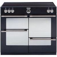 STOVES Sterling 1100Ei Electric Induction Range Cooker - Black, Black