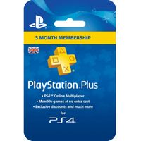 SONY PlayStation Plus 3 Month Subscription