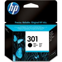 HP 301 Black Ink Cartridge, Black