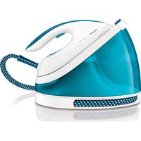 PHILIPS PerfectCare GC7035/20 Steam Generator Iron - White & Blue, White