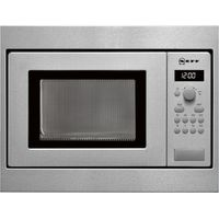NEFF H53W50N3GB Built-in Solo Microwave - Stainless Steel, Stainless Steel