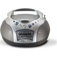 ROBERTS Swallow CD9959 Boombox - Grey & Silver, Grey