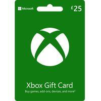 MICROSOFT Xbox Live Gift Card - 25