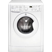 INDESIT IWDD7123 Washer Dryer - White, White