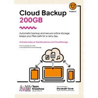 KNOWHOW Cloud Storage 200 GB - 2 Mobile Devices