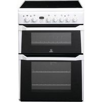 INDESIT ID60C2WS Electric Ceramic Cooker - White, White
