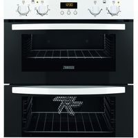 ZANUSSI ZOF35511WK Electric Built-under Double Oven - White, White