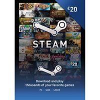 STEAM Steam Wallet Card - 20