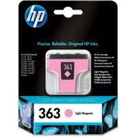 HP 363 Light Magenta Ink Cartridge, Magenta