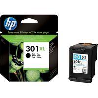 HP 301XL Black Ink Cartridge, Black