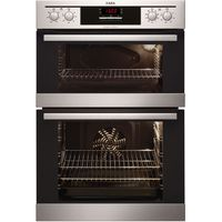 AEG DC4013021M Electric Double Oven - Stainless Steel, Stainless Steel
