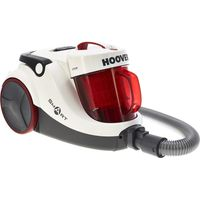 HOOVER Smart SP81SM02001 Cylinder Bagless Vacuum Cleaner - White & Red, White
